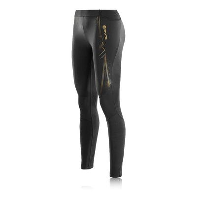 Skins A400 Gold Women's Compression Long Tights