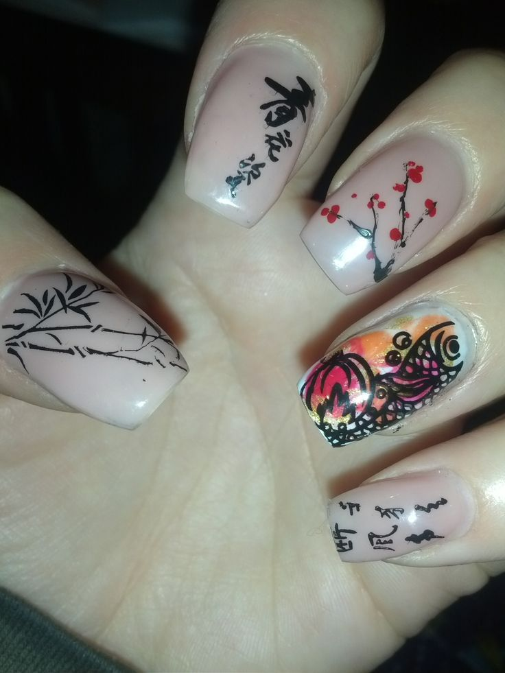 Top 14 Happy Chinese New Year Nail Designs – New Famous Fashion ...