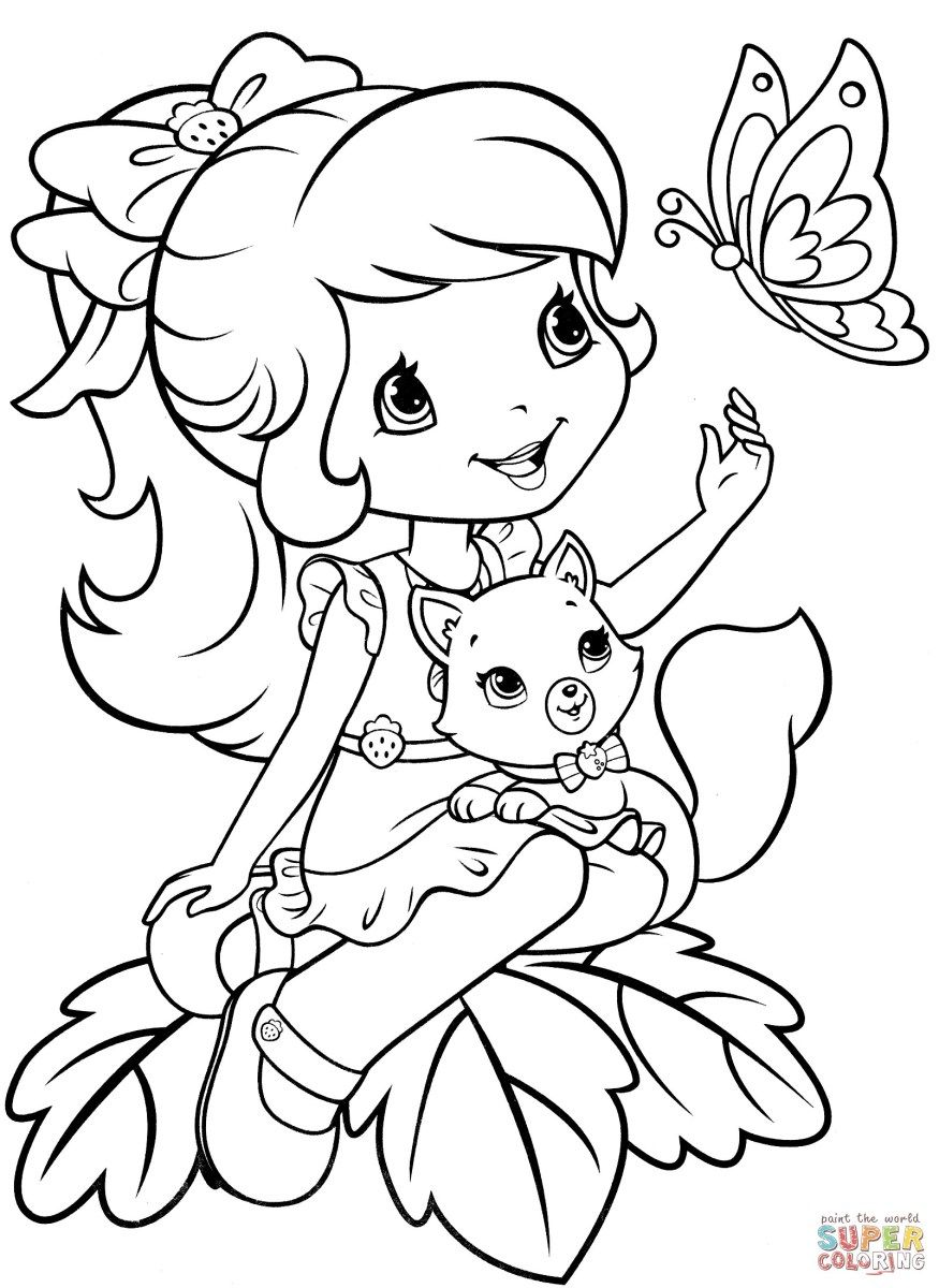 Strawberry Shortcake Coloring Pages Strawberry Shortcake Coloring Pages Free Coloring Pages Strawberry Shortcake Coloring Pages Coloring Pages For Girls Free Coloring Pages