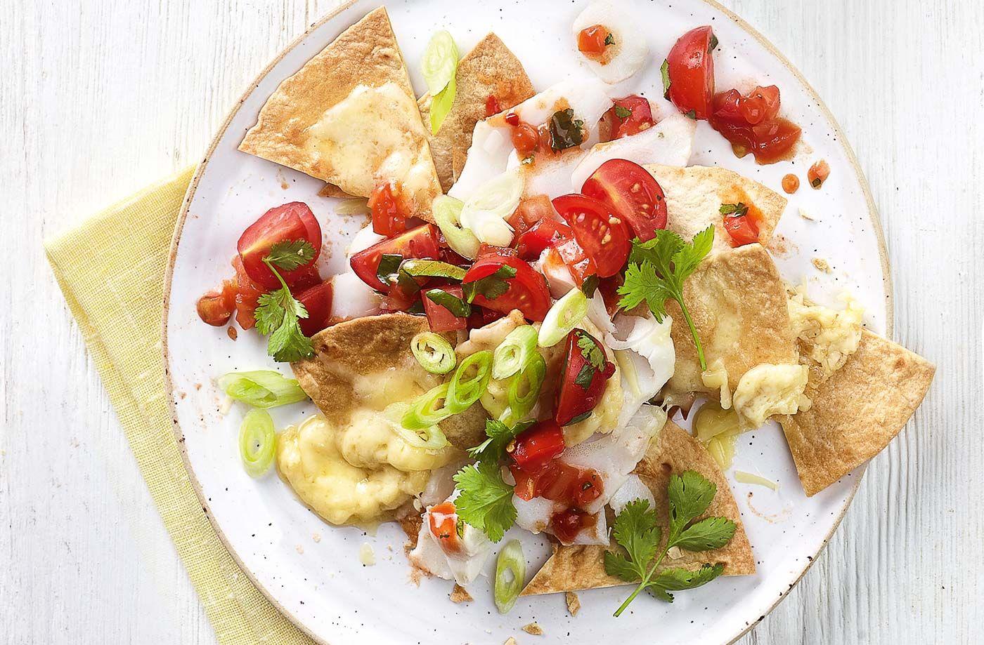Fish nachos recipe recipes tesco real food nachos recipe