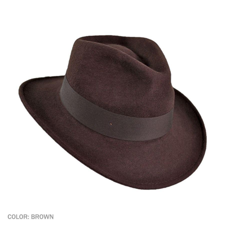 6da4a2f0326bd Crushable Ford Fedora Hat. Crushable Ford Fedora Hat Jaxon Hats ...