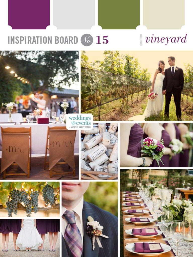 Inspiration Board 15 Vineyard Elegance Enchantment Vineyard Wedding Decor Vineyard Wedding Wedding [ 1024 x 768 Pixel ]