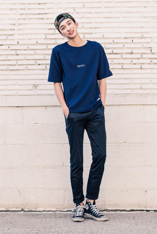 Korean Street Fashion  Gaya model pakaian pria, Model pakaian