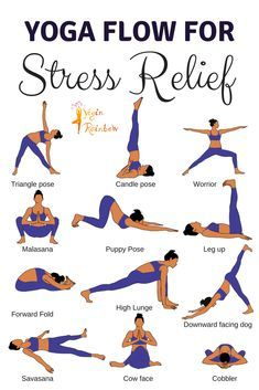 16 yoga poses for stress relief  relaxing yoga yoga for