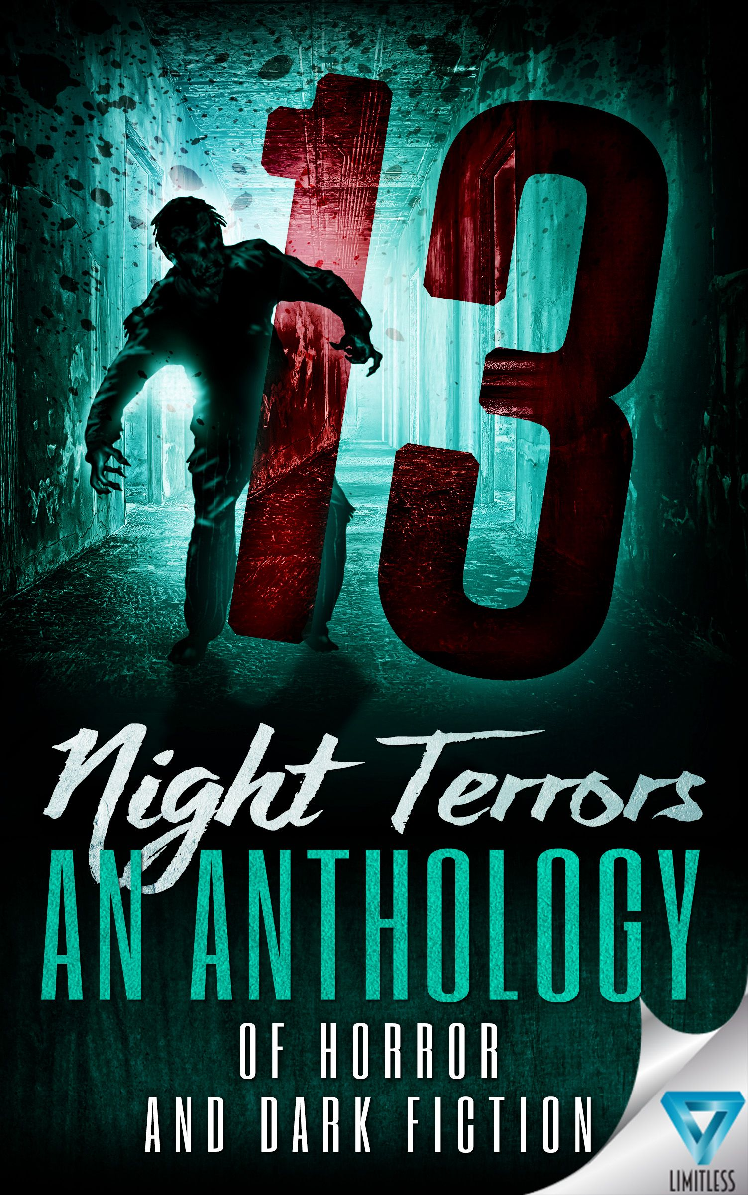 Antology horror book cover design by milo deranged