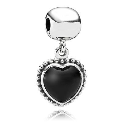 Heart Dangle Charm For Jewelry Making.