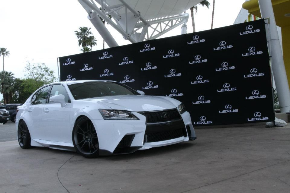Badass 2013 Lexus GS 350 FSport by Five Axis Lexus