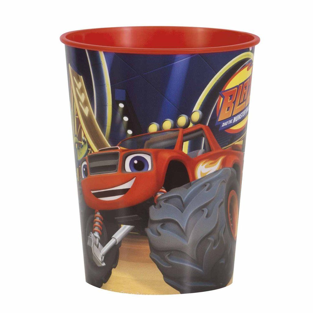 Blaze and the monster machines 16oz plastic party cup