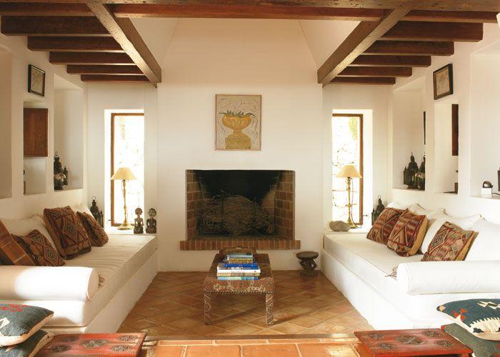 Pladur sof s chimenea y hornacinas hechas en obra pladur muebles chimeneas y casas de campo - Muebles de cocina de obra ...