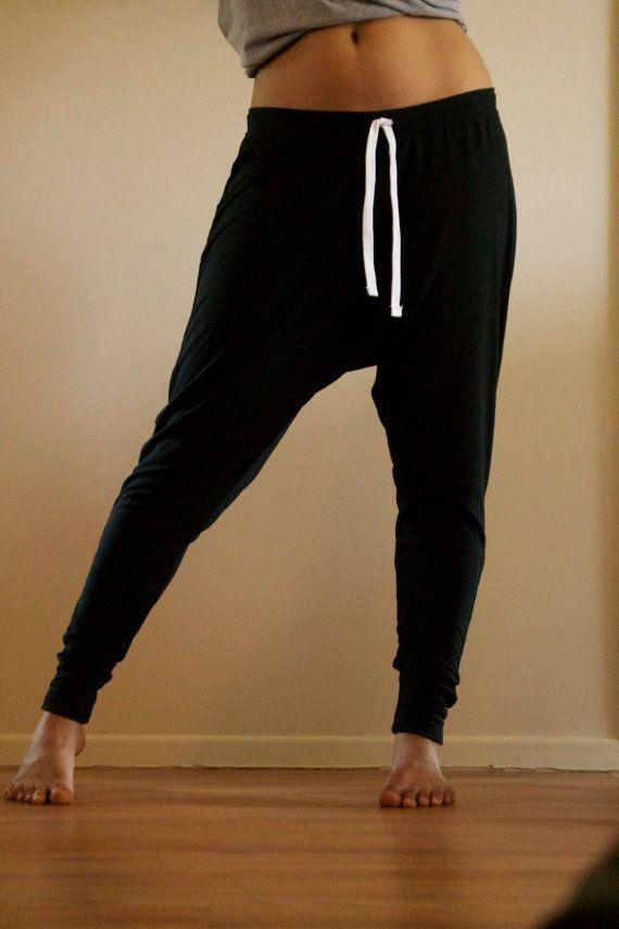 C&B Classic Harem Pants Unisex; AKA: Harem Trousers, Drop Crotch Pants, Drop Crotch Trousers, Yoga pants, Baggy Pants, men, women, loungers