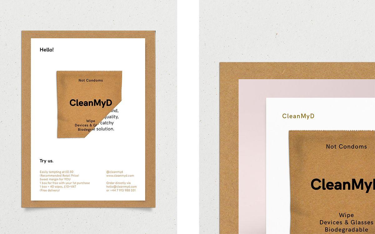 Cleanmyd Art Direction On Behance Art Direction Biodegradable