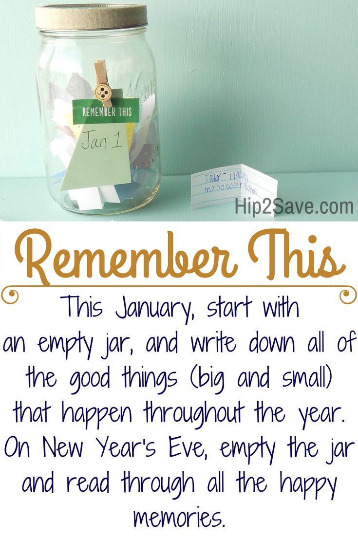 Remember This: A New Year's Tradition  #NewYear #January #Goodthings