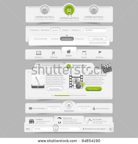 Web Site Design Template Navigation Elements Copyright Liquidlayout With Images Website Template Design Learn Web Design Page Design