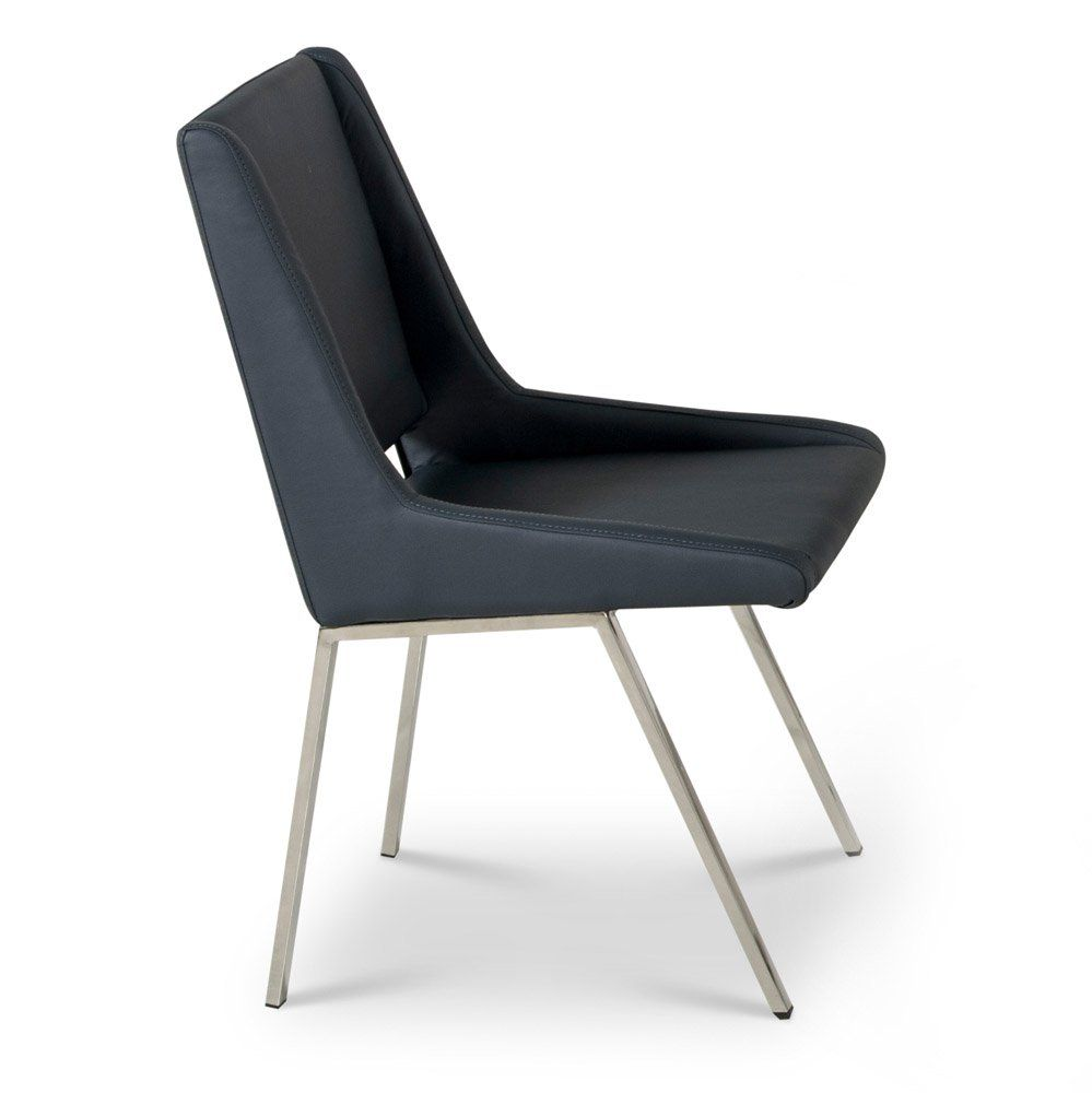 Fiore Dining Chair Blue Dining Chairs Blue Dining