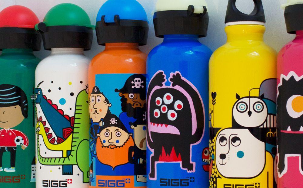 kids Sigg Large bottles in a range of prints https://www.sigg.com/