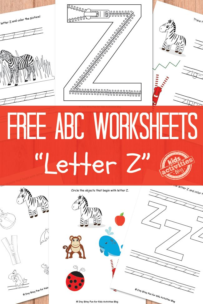 letter z worksheets free kids printable. Black Bedroom Furniture Sets. Home Design Ideas