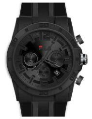All Black Pimped Out Fila Watch I Want