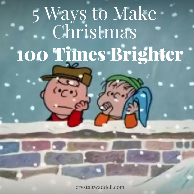 5 Ways to Make Christmas 100 Times Brighter | Peanuts | Pinterest