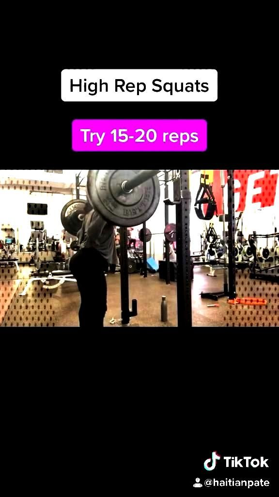 High Rep Squats Switch up your ...You can find Squats and more on our website.High Rep Squats Switc