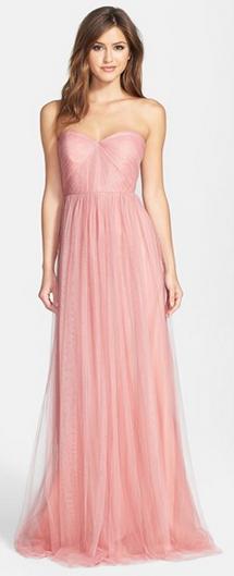 9ddb711a0a27b Jenny Yoo 'Annabelle' in Begonia Pink   Wedding   Bridesmaid dresses ...