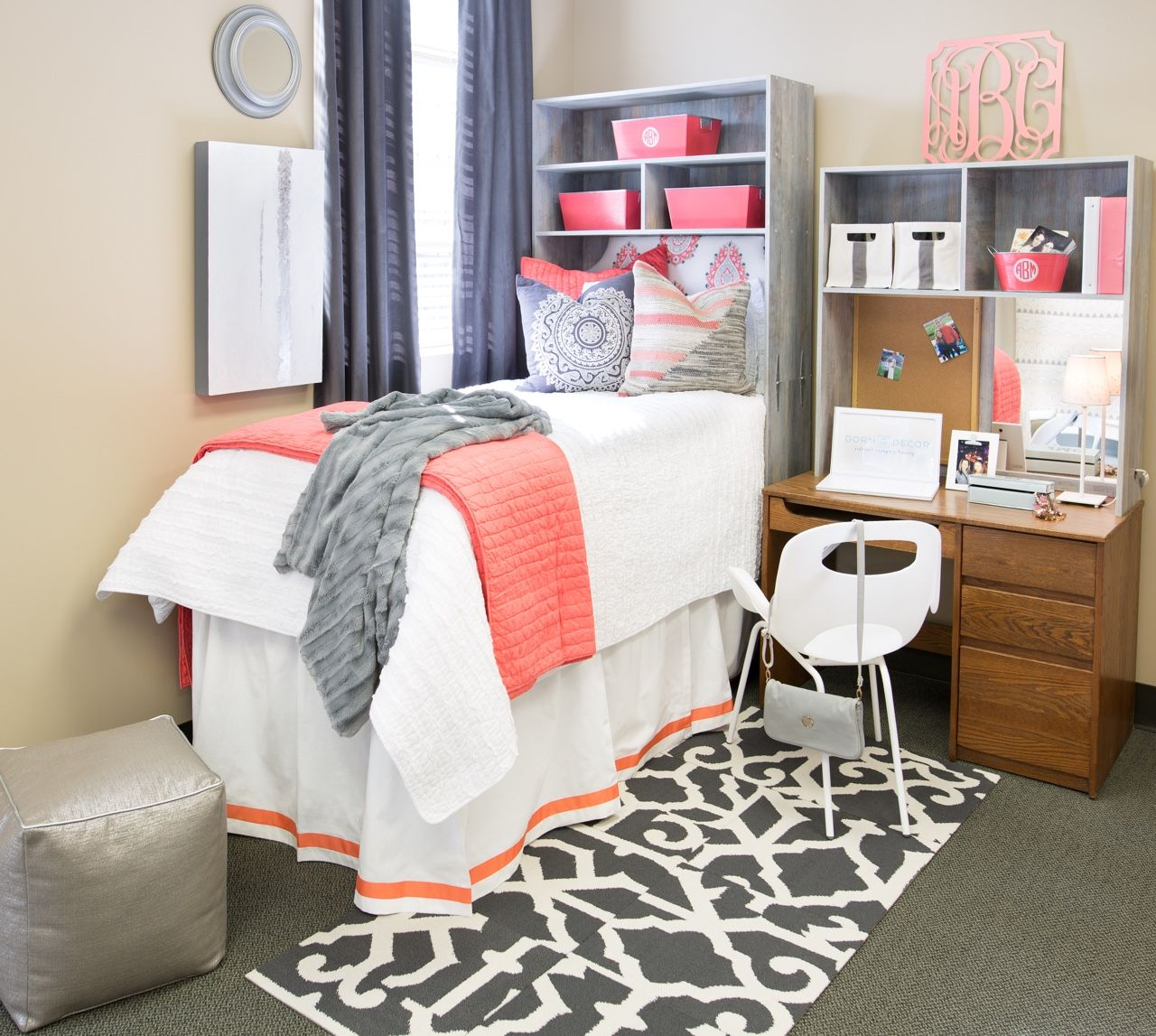 Art Décor: The Devin Coral Collection From Dorm Decor