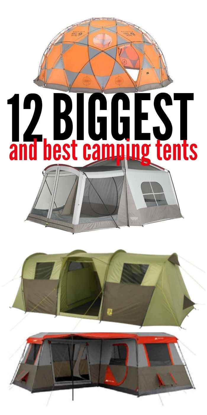 12 of the Biggest and Best Tents for Large Families | Tents C&ing 101 and C&ing list  sc 1 st  Pinterest & 12 of the Biggest and Best Tents for Large Families | Tents ...