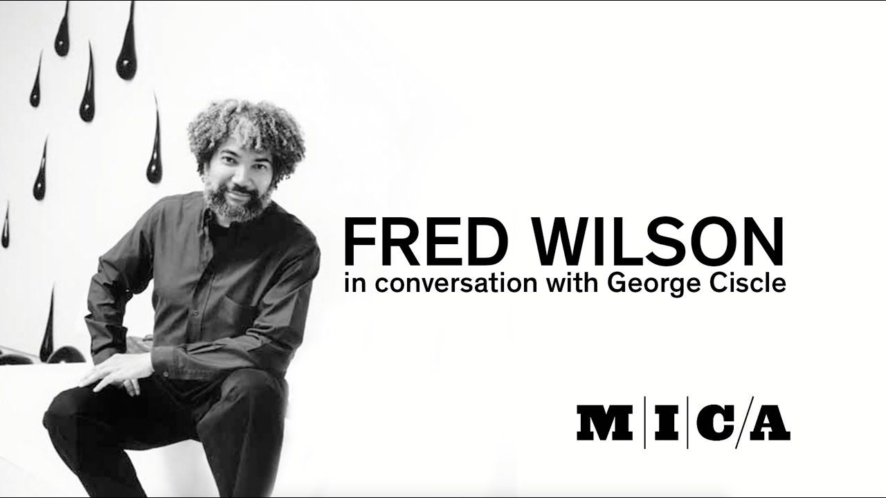 Artist fred wilson in conversation with curatorin