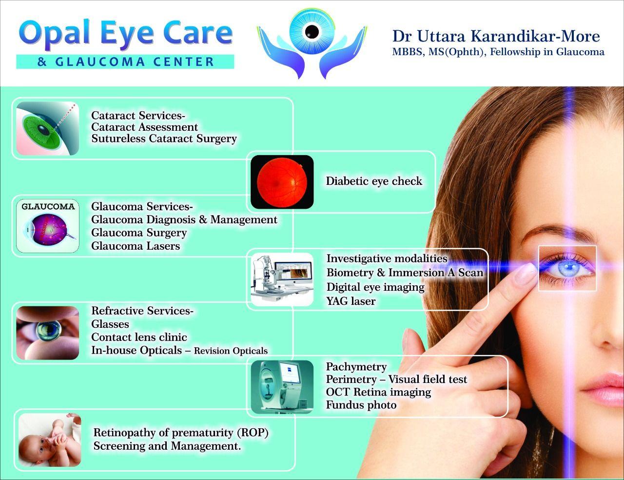 Opal Eye Care provides various service Opal eyes, Eye