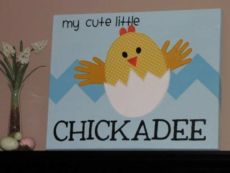 Handprint Chicks A Fun Easter Craft To Do With The Kids Description From I Searched For This On Bing Images