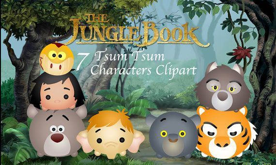 Livre De La Jungle Tsum Tsum 7 Haute Resolution Numerique