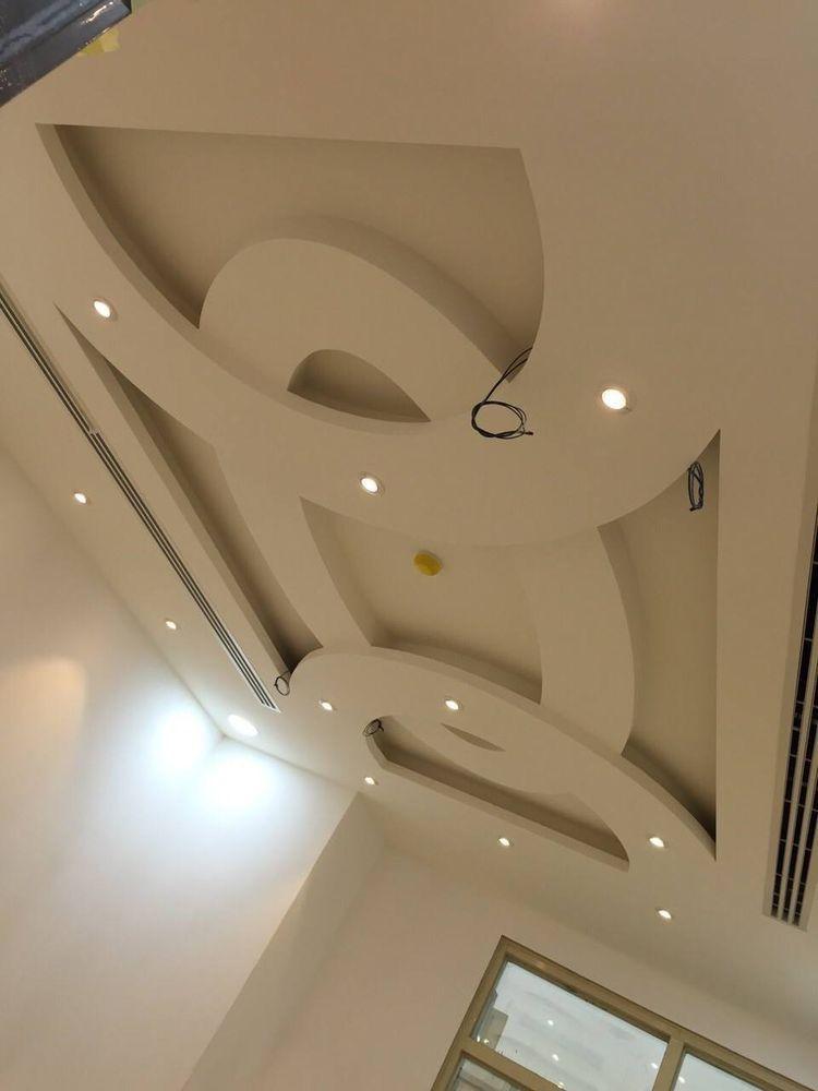 Manufacturer of gypsum false ceiling gypsum ceiling work for International decor false ceiling