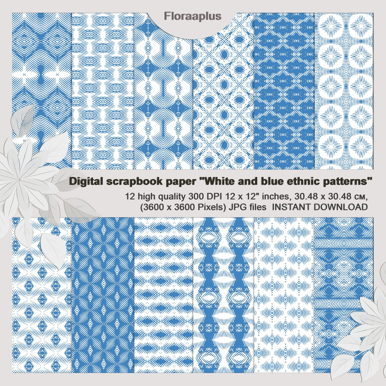 Pin Na Doske Etsy Digital Printable Scrapbook Paper