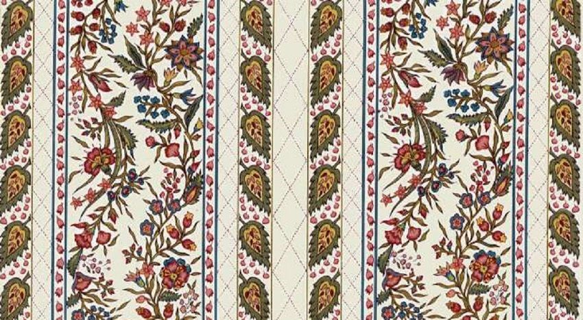 Dutch Chintz Border Fabric - Provence Ecru - half (1/2) yard by Motifsbyhand on Etsy https://www.etsy.com/listing/156341641/dutch-chintz-border-fabric-provence-ecru
