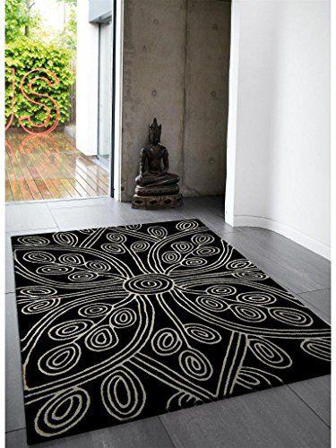 Teppich Wohnzimmer Carpet Modernes Design MATRIX KAYA BLUMEN RUG 100