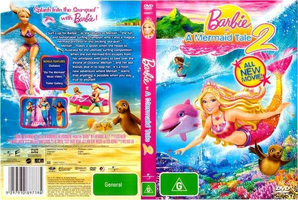 تحميل فيلم الانمى العائلى الرائع Barbie In A Mermaid Tale 2 2012 مدبلج عربى اكوام 広告