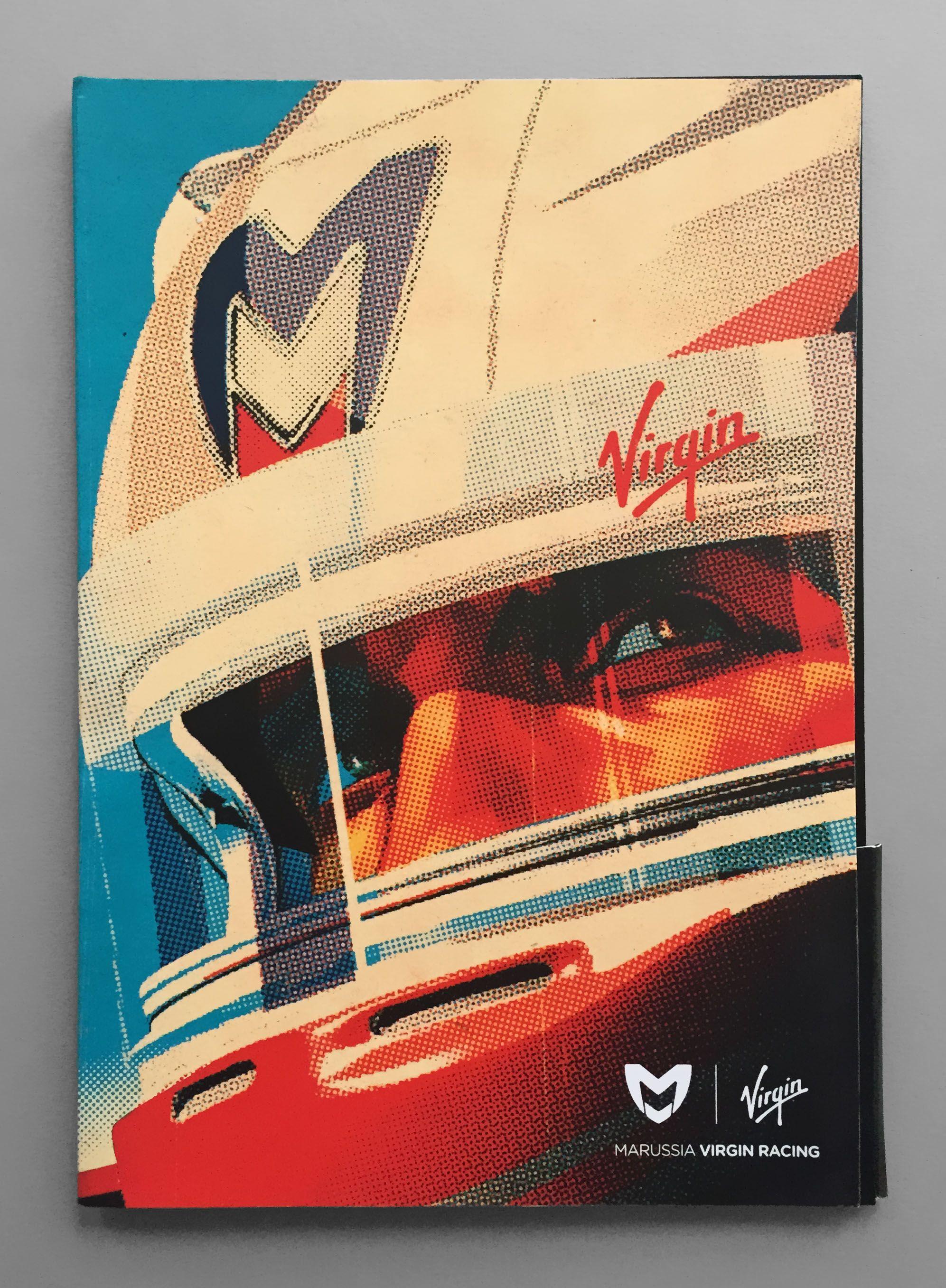 Press Pack For Virgin Marussia F1 Team Artwork By Tavis Coburn Www Dutchuncle Co Uk Tavis Coburn