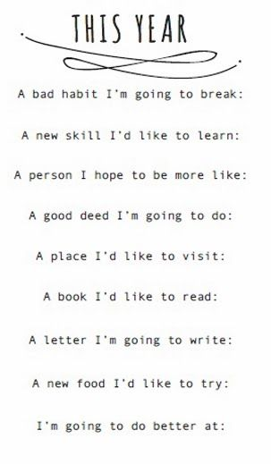 I don't like to do resolutions for the New Year...because no one keeps them anyway! But this might be a cool bucket list starter, anyway (: