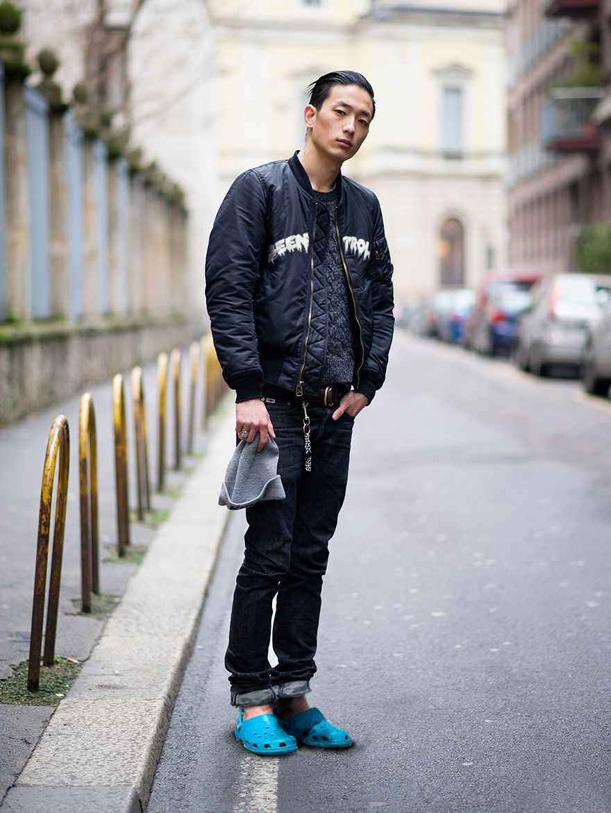 Crocs That S How You Do It Mens Street Style Style Mens Fashion