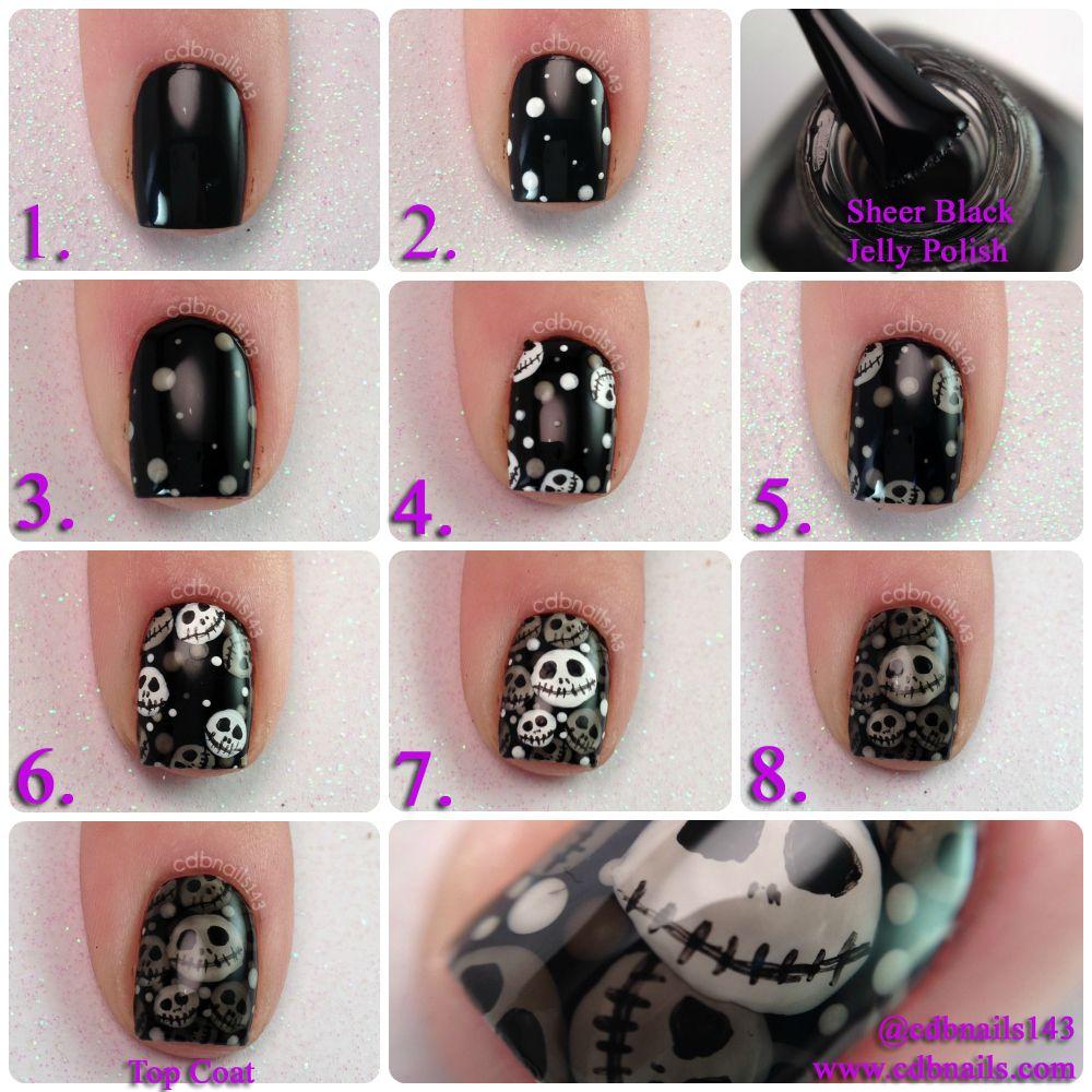 cdbnails-Nightmare Before Christmas Nails | nails | Pinterest | Nail ...