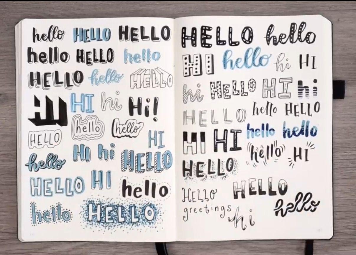 Pin by Lindsey Davis on Journaling | Bullet journal font
