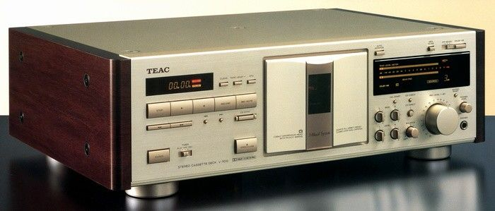TEAC V7010 (1993) Hifi audio, Tape recorder, Audio system