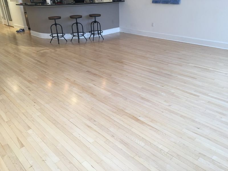 Maple Floors In Pro Floor Satin With Images Maple Floors