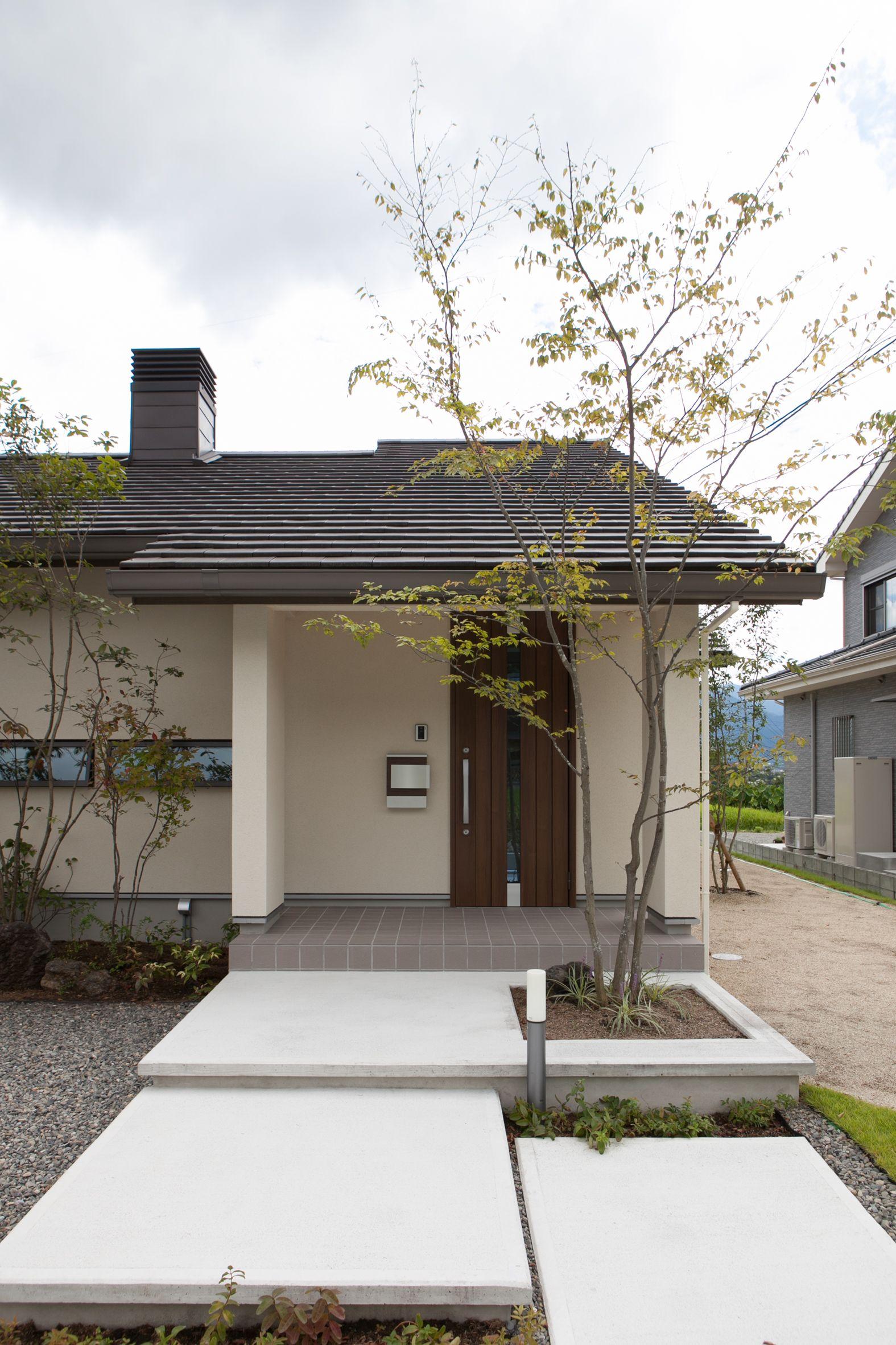 新産住拓の施工事例 熊本の新築一戸建て注文住宅 エクステリア
