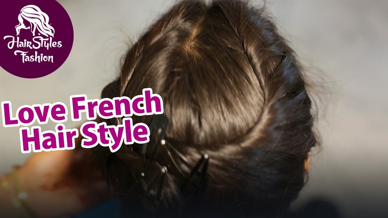 Simple Hairstyle Beautiful French Hairstyle Easy Way Of