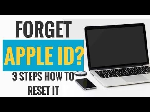 Here are the simple steps how you can reset your Apple ID