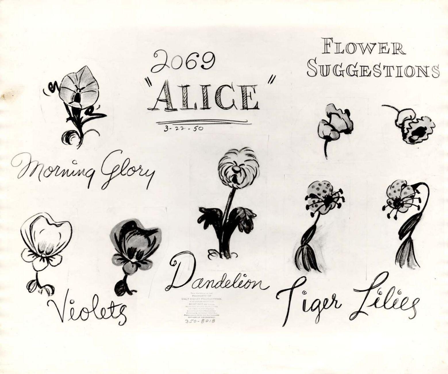 Alice In Wonderland Flowers Tattoo Ideas 3 Alice In Wonderland Flowers Alice And Wonderland Tattoos Wonderland Tattoo
