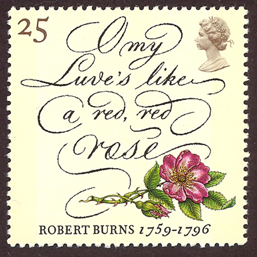 [Robert Burns stamp]