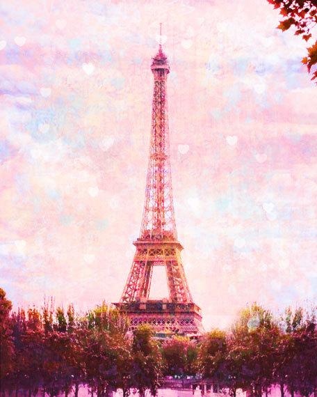 As Creation Pink Paris Pattern Eiffel Tower Childrens: Photo Tour Eiffel Rose, Paris Photographie, Pink Paris