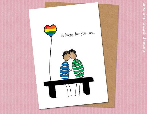 from Kyson gay wedding ecards