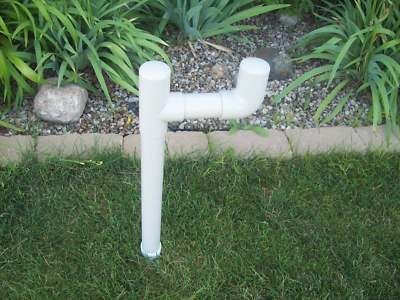 Outdoor Garden Watering Water Hose Holder Lawn Hanger Stand Mess Free Usa Made Ebay Garden